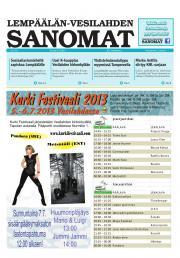 Lempäälän-Vesilahden Sanomat 04.07.2013