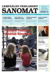 Lempäälän-Vesilahden Sanomat 08.07.2013