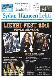 Sydän-Hämeen Lehti 26.06.2013