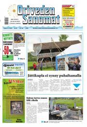 Oriveden Sanomat 11.07.2013