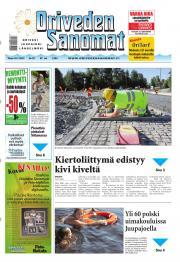 Oriveden Sanomat 16.07.2013