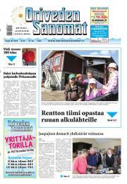 Oriveden Sanomat 18.07.2013