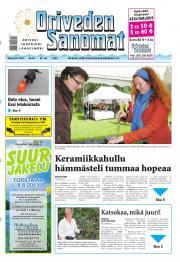 Oriveden Sanomat 23.07.2013