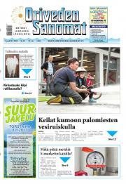 Oriveden Sanomat 25.07.2013