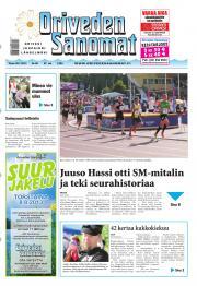 Oriveden Sanomat 30.07.2013