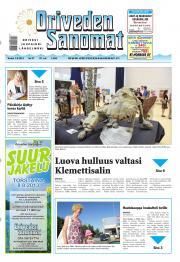 Oriveden Sanomat 01.08.2013