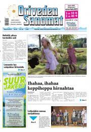 Oriveden Sanomat 06.08.2013