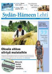 Sydän-Hämeen Lehti 14.08.2013