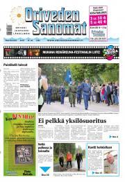 Oriveden Sanomat 20.08.2013