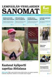 Lempäälän-Vesilahden Sanomat 26.08.2013