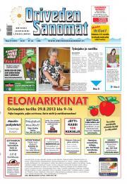 Oriveden Sanomat 27.08.2013
