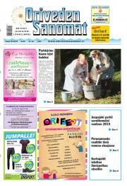 Oriveden Sanomat 29.08.2013