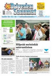 Oriveden Sanomat 03.09.2013