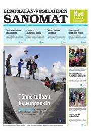 Lempäälän-Vesilahden Sanomat 05.09.2013