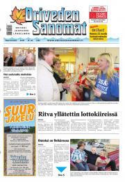 Oriveden Sanomat 10.09.2013