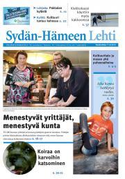 Sydän-Hämeen Lehti 11.09.2013