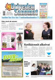 Oriveden Sanomat 12.09.2013