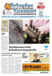 Oriveden Sanomat 24.09.2013