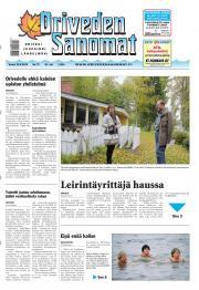 Oriveden Sanomat 26.09.2013