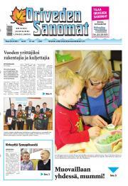 Oriveden Sanomat 29.10.2013