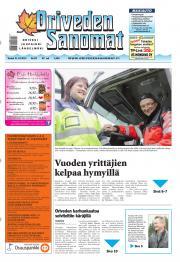 Oriveden Sanomat 31.10.2013