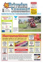 Oriveden Sanomat 12.11.2013