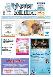 Oriveden Sanomat 28.11.2013