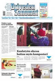 Oriveden Sanomat 16.01.2014