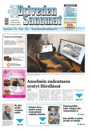 Oriveden Sanomat 23.01.2014