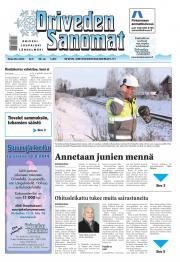 Oriveden Sanomat 28.01.2014