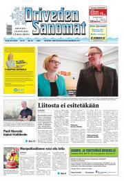 Oriveden Sanomat 27.03.2014