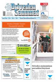 Oriveden Sanomat 01.04.2014
