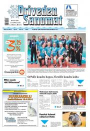 Oriveden Sanomat 08.04.2014