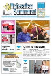 Oriveden Sanomat 10.04.2014