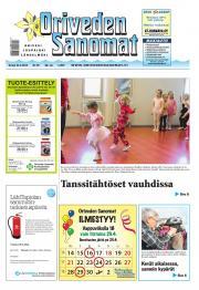 Oriveden Sanomat 24.04.2014