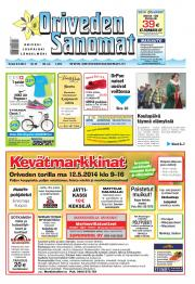 Oriveden Sanomat 08.05.2014
