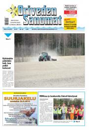 Oriveden Sanomat 13.05.2014