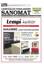 Lempäälän-Vesilahden Sanomat 14.05.2014