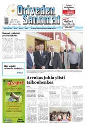 Oriveden Sanomat 10.06.2014
