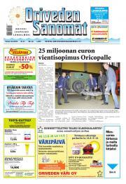 Oriveden Sanomat 12.06.2014
