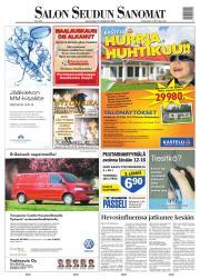 Lehtiluukku.fi - Salon Seudun Sanomat 15.04.2007 - Suomen laajin valikoima  digilehtiä netissä 1b87bfccb2