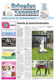 Oriveden Sanomat 17.06.2014