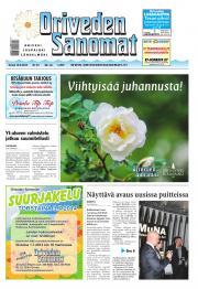 Oriveden Sanomat 19.06.2014
