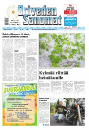 Oriveden Sanomat 24.06.2014