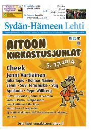 Sydän-Hämeen Lehti 25.06.2014