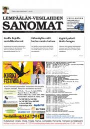 Lempäälän-Vesilahden Sanomat 02.07.2014