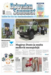 Oriveden Sanomat 10.07.2014