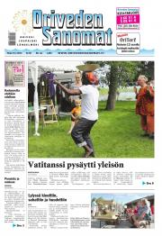 Oriveden Sanomat 15.07.2014