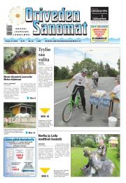 Oriveden Sanomat 17.07.2014