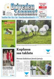 Oriveden Sanomat 22.07.2014